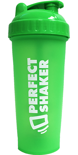 PerfectShaker Classic Neon Series, 800ml, Green