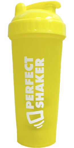 PerfectShaker Classic Neon Series, 800ml, Yellow
