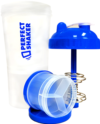 PerfectShaker Plus, 700ml, Ocean Blue
