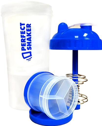 PerfectShaker Plus, 700ml, Ocean Blue