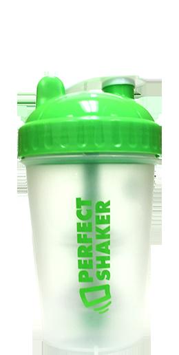 PerfectShaker Classic Mini, 500ml, Gecko Green